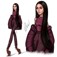 "6,474 Likes, 98 Comments - Lyubomir Dochev (@ldochev) on Instagram: ""Yeezy season 5 KKW @kimkardashian illustration #Ldochev #fashion #illustration #KimKardashian…"""