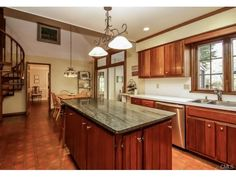 Large Eat~In~Kitchen W/Interior Balcony --  CT - #: 99045000