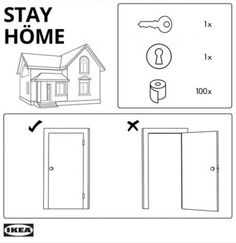 IKEA, Guinness, Audi and Nike encourage social distancing and staying home Ikea Hackers, Pax Wardrobe, Built In Wardrobe, Billy Ikea, Architecture Design, Hemnes, Kallax, Wood Screws, Toilet Paper Rolls
