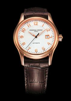 Frederique Constant Runabout Automatic 18K Gold Plated Men's Watch