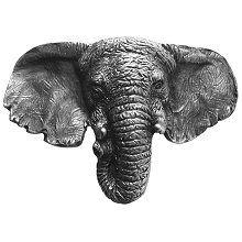 Notting Hill - Goliath (Elephant) Knob Antique Pewter