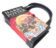 Harry Potter Book Purse  Deathly Hallows Book by retrograndma, $75.00