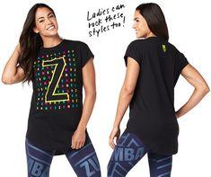 Zumba Z Men's Top | Zumba Fitness Shop Zumba Strong, Zumba Shirts, Zumba Outfit, Zumba Fitness, Workout, Lady, Mens Tops, Outfits, Shopping