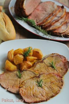 Rosbif de ternera de Extremadura al Pimentón de la Vera. Receta de asado para Navidad | Cocinar en casa es facilisimo.com