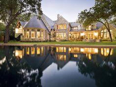 $4.2 Million Stone Estate in Dallas Texas