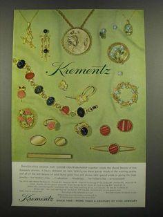 1972 Krementz Jewelry Ad