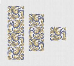 embroidery design machine embroidery border set print download
