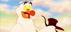Scuttle blowing all that sea gunk out of a snarfblat. | 21 Strangely Pleasurable Disney Moments