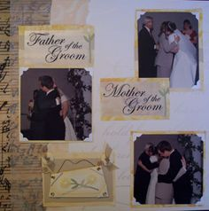 Wedding Scrapbook Layouts | My Crop Room