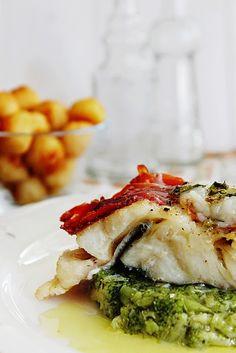 Cozinhadaduxa: Lombos de Bacalhau com Presunto em Esmagada de Bró...