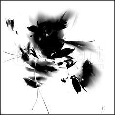 Tableau Numérique: N&B une toile de limmagin impression sur dibond, verre acrylique et canvas.