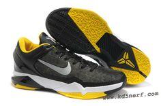 Nike Zoom Kobe 7 Shoes Black Yellow