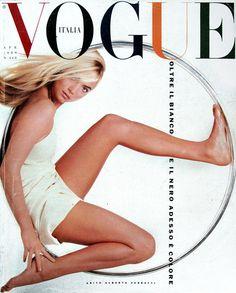 Rachel Williams by Steven Meisel, Vogue Italia April 1989