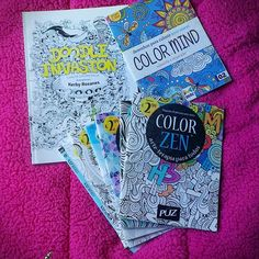 Aquele Cantinho...: Os meus livros de colorir para adultos