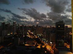 Por do sol - Vista apê Recife/PE #nofilter #saudades