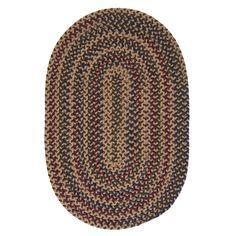 Horizon Multicolored Reversible Braided Rug (6' x 9')