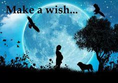 Make a wish at Blue Moon