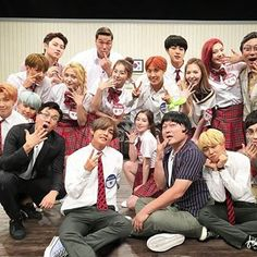 BtsVelvet on Jtbc Knowing Brothers . Ini gua edit di picsart masih HQ ko di upload macam ini ya kualitasnya ⚪️ ⚠️ Attention ‼️ Please credits me if you want to use my edits and don't crop the watermarks. Running Man Funny, Bts Girl, Bts Inspired Outfits, Kim Heechul, Kpop Couples, Bts Imagine, Kim Yerim, Korean Couple, Ulzzang Couple