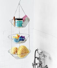 Tiny-Ass Apartment: Wet works: 10 storage solutions for sinks, showers, and tubs