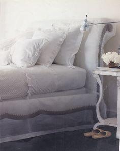Ralph Lauren bed.