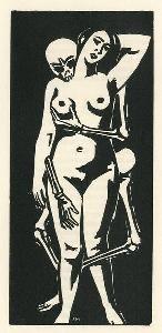 Frans Masereel - Xylographie pour : François Villon, Le Testament - 1930