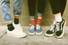 Imagem de shoes, grunge, and socks