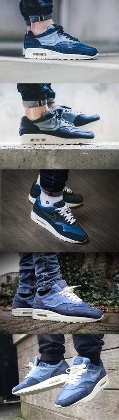 uk availability ec097 4712f  Nike  Air  Max 1  Pinnacle  Ocean  Fog