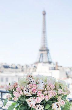 Paris Photography - A Paris Balcony, Eiffel Tower: