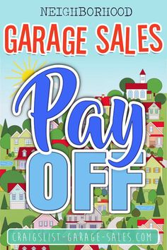 It pays to shop at Neighborhood Garage Sales. Check out the profit potential of these reader-submitted Neighborhood Garage Sale finds. Community Garage Sale, Neighborhood Garage Sale, Garage Sale Finds, Love Home, The Neighbourhood, Yard Sales, Hacks, City, Modern