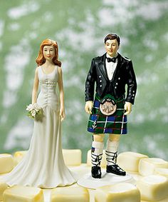 Matt pointed this out to me... LOVE the groom in a kilt and that we can customize hair colour too ;)