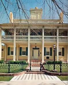 The Beehive House - Home to Brigham Young and some of his many wives once upon a time.