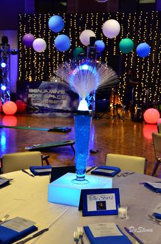 Space theme Bar Mitzvah www.tieabowdallas.com Dallas, Texas Bar Mitzvah Themes, Bar Mitzvah Party, Bat Mitzvah, Homecoming Themes, Outer Space Party, Galaxy Theme, Graduation Theme, Glow Party, Space Theme