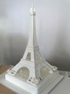 Eiffel Tower Cake.