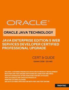 #Java Enterprise Edition 5 #WebServicesDeveloper Certified Professional Upgrade Exam #1Z0_863 #infographics by #troytec
