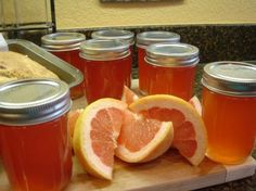 Ruby Red Grapefruit Jelly
