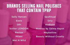 These Nail Polish Brands Contain a Chemical That Could Mess With Your Hormones | Mother Jones