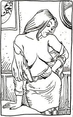 Moebius From french comics magazine u0026quot L u0026 39 cho des Savanes u0026quot 12 erotic french comics