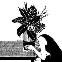 | Tragedy makes you grow up | by Henn Kim Go Get Art Print