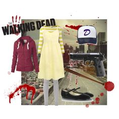 """Clementine: Walking Dead the video game"" by kenni103 on Polyvore"