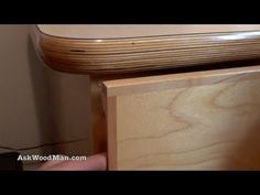How To Make Plywood Boxes • 2 of 64 • Woodworking project for kitchen cabinets, desks, etc...