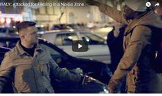 """Afrikai: """"Megöllek"""" – Tommy Robinson brit aktivista válasza: ököllel pofájába sújtott – Lovas István"""