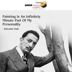 A great saying by a legendary artist!  #Art #Quote #SalvadorDali #ArtistQuote #Legendary #PaintedRhythm
