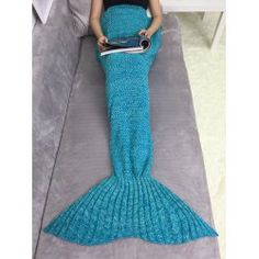 SHARE & Get it FREE | Acrylic Knitting Mermaid Tail Sofa BlanketFor Fashion Lovers only:80,000+ Items • FREE SHIPPING Join Twinkledeals: Get YOUR $50 NOW!