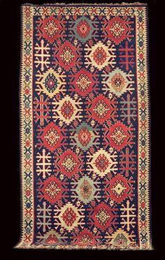 Rugs and Flatweaves of the Transcaucasus, Antique Kuba kilim