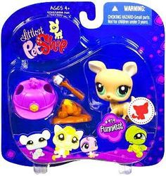 New LPS Littlest Pet Shop Deer Doe with Marshmellow Campfire Accessories New Hasbro Collectible Retired Toy