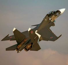 Sukhoi Su-30SM (considered to be a 4+ generation fighter)