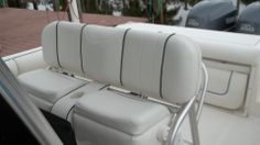 Bow Cushions In A Center Console Boat You Make Template