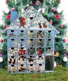 Santas Christmas Tree Forest  Advent Calendar  by StardustKay