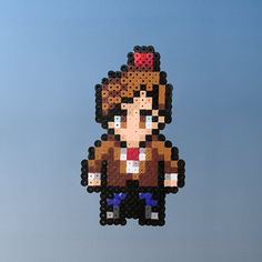 Doctor Who 11 / 11th Doctor Perler Bead Sprite by thecraftypixel