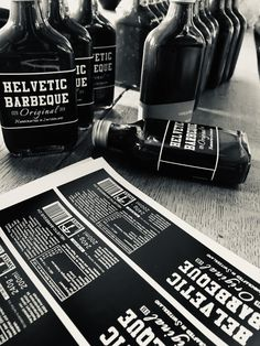 """Vor genau einem Jahr starteten wir unser """"Proof of Concept"""" mit der Idee eine BBQ Sauce aus Schweizer Rohstoffen und nationalem Wiedererkennungswert zu schaffen.  Der Anfang war harzig, jedoch vielversprechend! Wir besuchten Metzgereien in der ganzen Schweiz und stellten unser Produkt vor.   #HelveticBarbeque Proof Of Concept, Barbeque Sauce, Bbq, Happy Birthday, Whiskey Bottle, Lifestyle, Butcher Shop, Swiss Guard, Barbecue"""